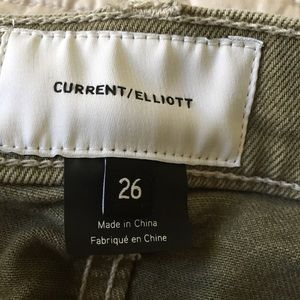 Current/Elliott Jeans - Current/Elliott Ankle Jeans